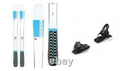 2021 K2 MindBender Alliance 90C 156cm Skis & 2021 Marker 10.0 TP 100mm Bindings