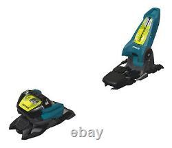 2021 Marker Griffon 13 ID Ski Bindings Teal/Flo Yellow 110mm NEW