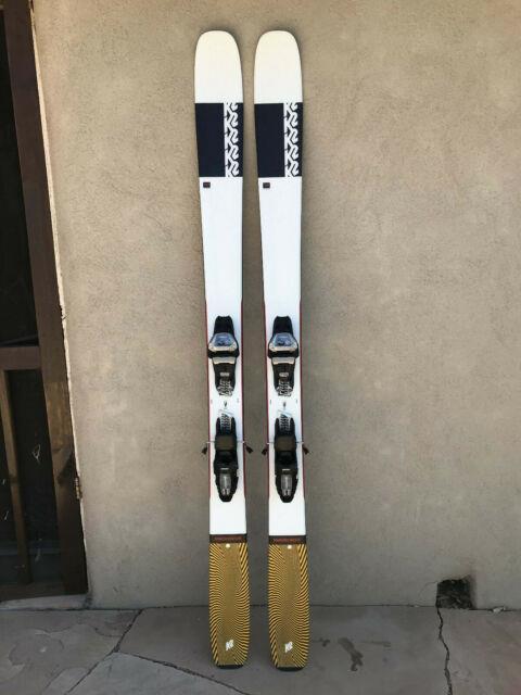 20 21 K2 Mindbender 108ti Ski 186cm With Marker Bindings New And Unused