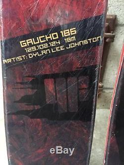 4FRNT Gaucho 186cm With Marker Schizo Bindings