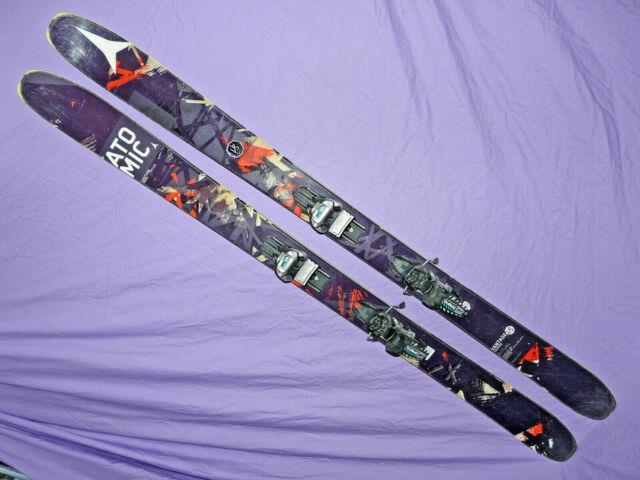 Atomic Ritual All-mtn Rocker Skis 182cm Vantage With Marker Griffon Demo Bindings
