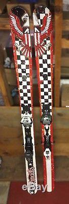Armada Halo II Twin Tip Skis With Marker Jester Schizo Bindings (length 176)