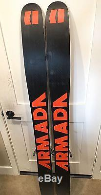 Armada JJ 175cm, 2012 with Marker Griffin bindings