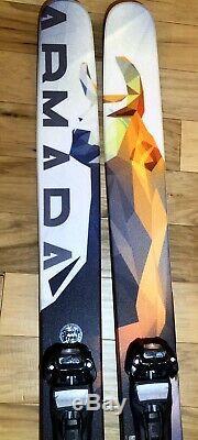 Armada JJ 2.0 Skis w Marker Duke bindings
