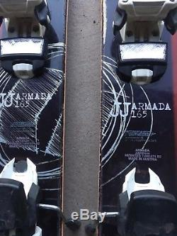 Armada JJ Skis 165 Marker Squire Bindings