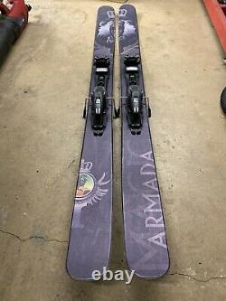 Armada Magic J 190 Skis Marker Duke Bindings Black Diamond Skins