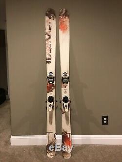 Armada TST Skis 183 With Marker Griffon Bindings