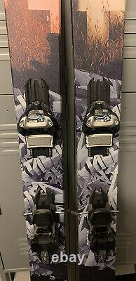 Armada x Metallica JJ 2.0 skis withMARKER GRIFFON bindings MINT CONDITION