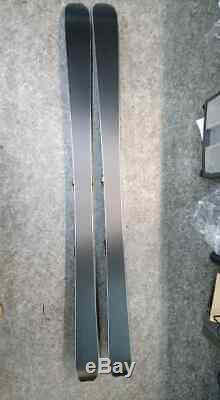 Atomic Backland (170cm) 78 skis, Skins & Marker Kingpin bindings