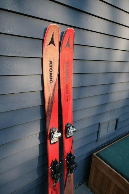 Atomic Backland Fr 109 Skis 182cm With Marker Griffon Bindings