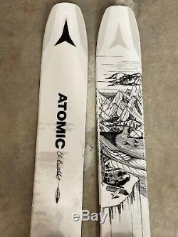 Atomic Bent Chetler 120 Skis. With Marker Griffon Bindings