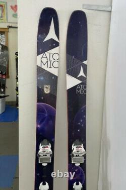 Atomic Century Womens Powder Skis with Marker Bindings