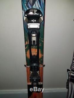 Atomic bent chetler 178cm Ski/Duke Marker Binding 2017