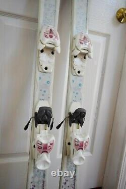 Axis Luna Skis Size 130 CM With Marker Bindings