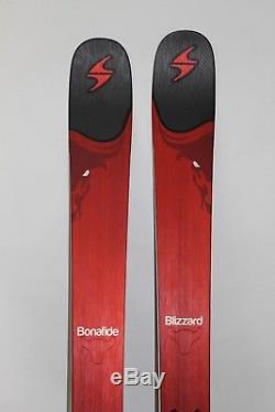 BLIZZARD Bonafide 180cm MOUNTED with Marker GriffonID Binding 350mm 8A511200K