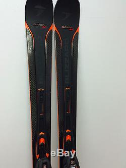 BLIZZARD QUATTRO RX 174cm 2017 SKIS WITH BINDINGS MARKER X-CELL 14.0