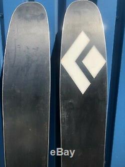 Black Diamond Boundary 115 Skis 175cm Used Marker Griffin Demo Bindings