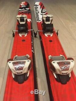 Black Diamond Justice 185 Skis With Marker Jester Bindings