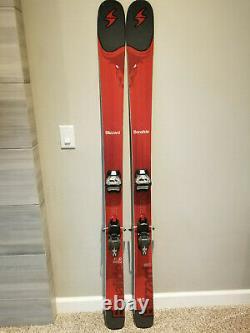 Blizzard Bonafide 180 cm 2017 skis + Marker Griffon bindings 98 underfoot