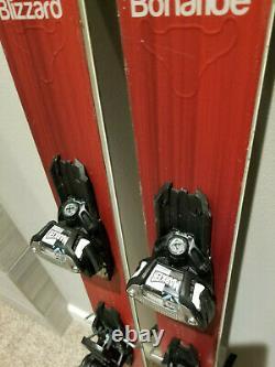 Blizzard Bonafide 180cm skis + Marker Griffon adjustable bindings