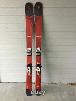 Blizzard Bonafide skis size 166cm with Marker Griffon bindings