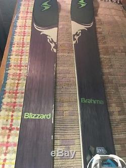 Blizzard Brahama 180cm Marker Griffon SOLE Binding