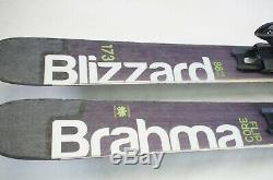 Blizzard Brahma Flip Core 173 Snow Skis with Marker Squire Bindings