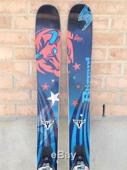 Blizzard Cochise All Mountain Skis Powder Size 177cm Marker Griffon Demo Binding