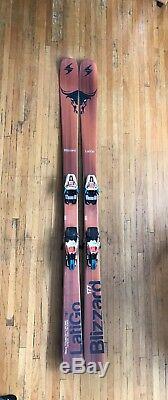 Blizzard Latigo Men's Skis 2016/2017 177cm Marker Race Xcell 16.0 Bindings