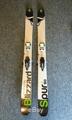 Blizzard Spur 189 cm Powder Skis, Marker Jester Bindings