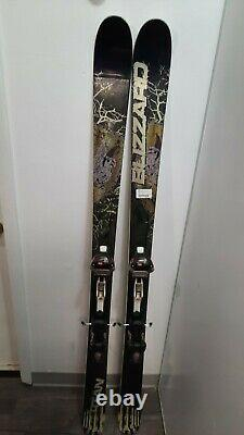 Blizzard Titan Twin Tip All Mountain Skis With Marker AT Bindings Size 173cm
