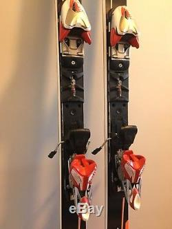 Blizzard Worldcup GS RACE SKIS, 191cm, FIS 27R. Marker EPS Comp 16 bindings
