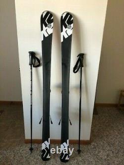 Brand K2 Men's Downhill Skis with Marker Bindings