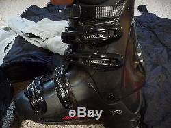 Complete Ski Package Mens Elan Skis, Marker Bindings, Boots, Poles and MORE