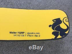 DPS Wailer 112RP PURE Carbon + Nano 178cm with Marker Griffon Bindings