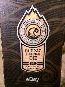 Dupraz O Series Skis With Marker Griffon Demo Bindings