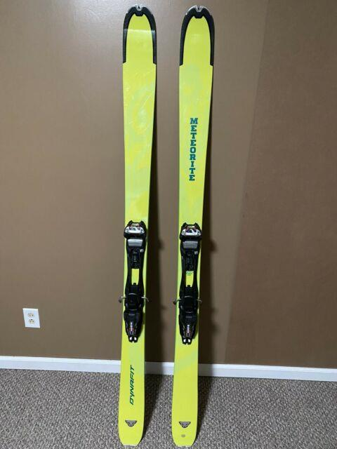 Dynafit Meteorite Skis 184 Marker Barron Epf 13 Large Touring Bindings, G3 Skins