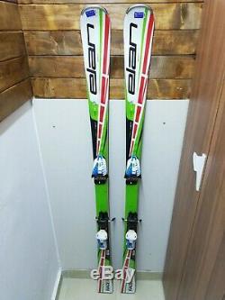 Elan Race SLR 165 cm Ski + Marker 10 Bindings Winter FIS Snow Outdoor Sport Fun
