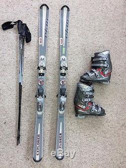 Elan Ski Package, Explorer 160cm, Marker 900 Binding, Dalbello Boots & Poles