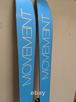 Ex Demo 2018 Movement Go 100 185cm Mens Freeride Skis + Marker Griffon Bindings