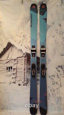 Ex-Demo Blizzard Rustler 10 180cm All Mountain skis + Marker Griffon TCX binding