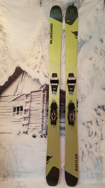 Ex-demo Blizzard Rustler 11 180cm All Mountain Skis + Marker Griffon Tcx Binding