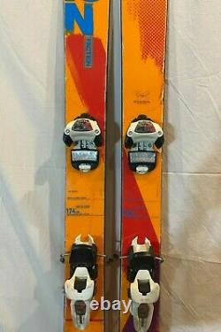 Faction Prodigy 174cm 136-98-126 r=19m Twin-Tip Skis withMarker Griffon Bindings