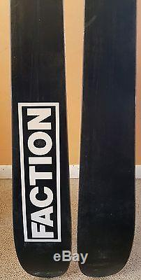 Faction silas 178 cm skis with marker griffon bindings