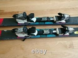 Fifth Element 170 cm Twin Tip Skis and Marker Fast track Demo Bindings