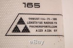 Fischer XTR Pro Mtn X 165 cm Ski + Marker M10 Bindings