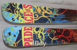 Freestyle NORDICA Skis 177cm + Marker Bindings