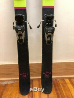 Gently Used Line Gizmo Skis Size 133 With Marker Free 8 Bindings