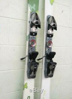 HEAD Sweet Fat Thang 156cm 121-87-114 Twin-Tip Skis withMarker 9.0 Bindings GREAT