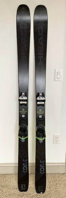 Head Kore 93 180 Cm With Marker Griffon Bindings